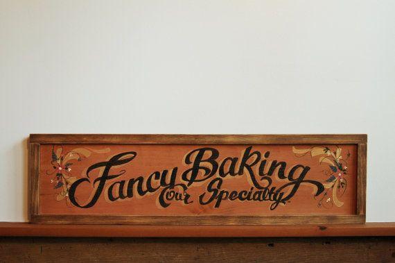 Vintage Bakery Sign