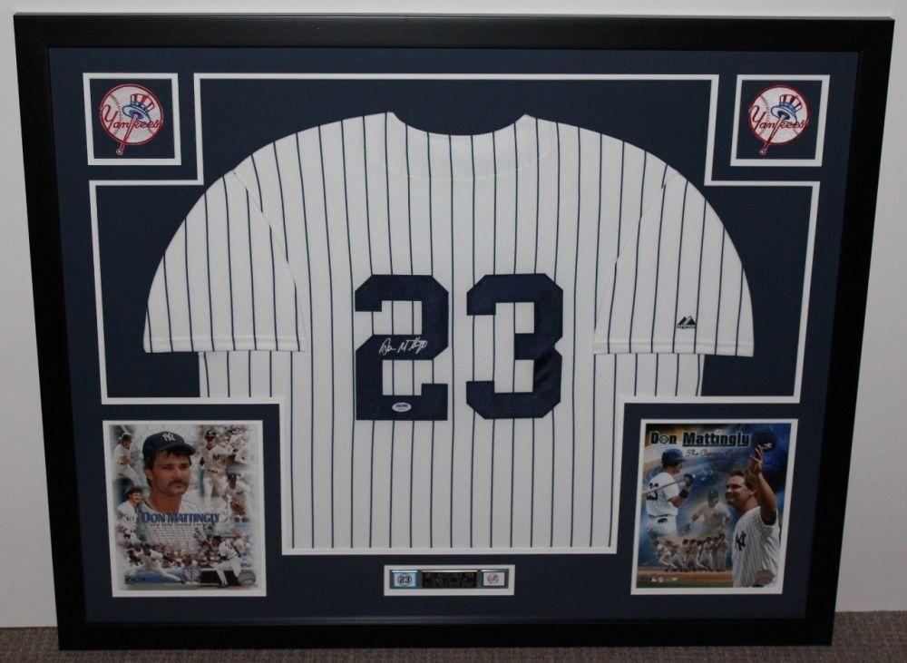 meet dd4a8 febf7 Don Mattingly Signed Yankees 35