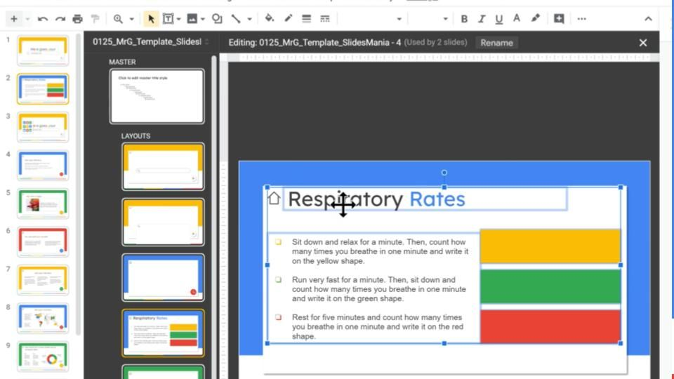 How To Add Content On The Master To Avoid Moving Or Deleting It By Mistake In Google Slides Google Slides Google Master Slides