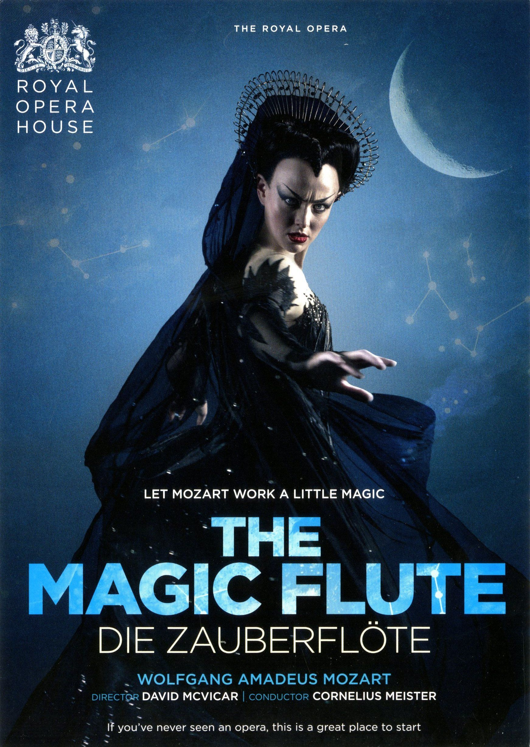 The Magic Flute Roh Theatre Poster Opera The Magic Flute