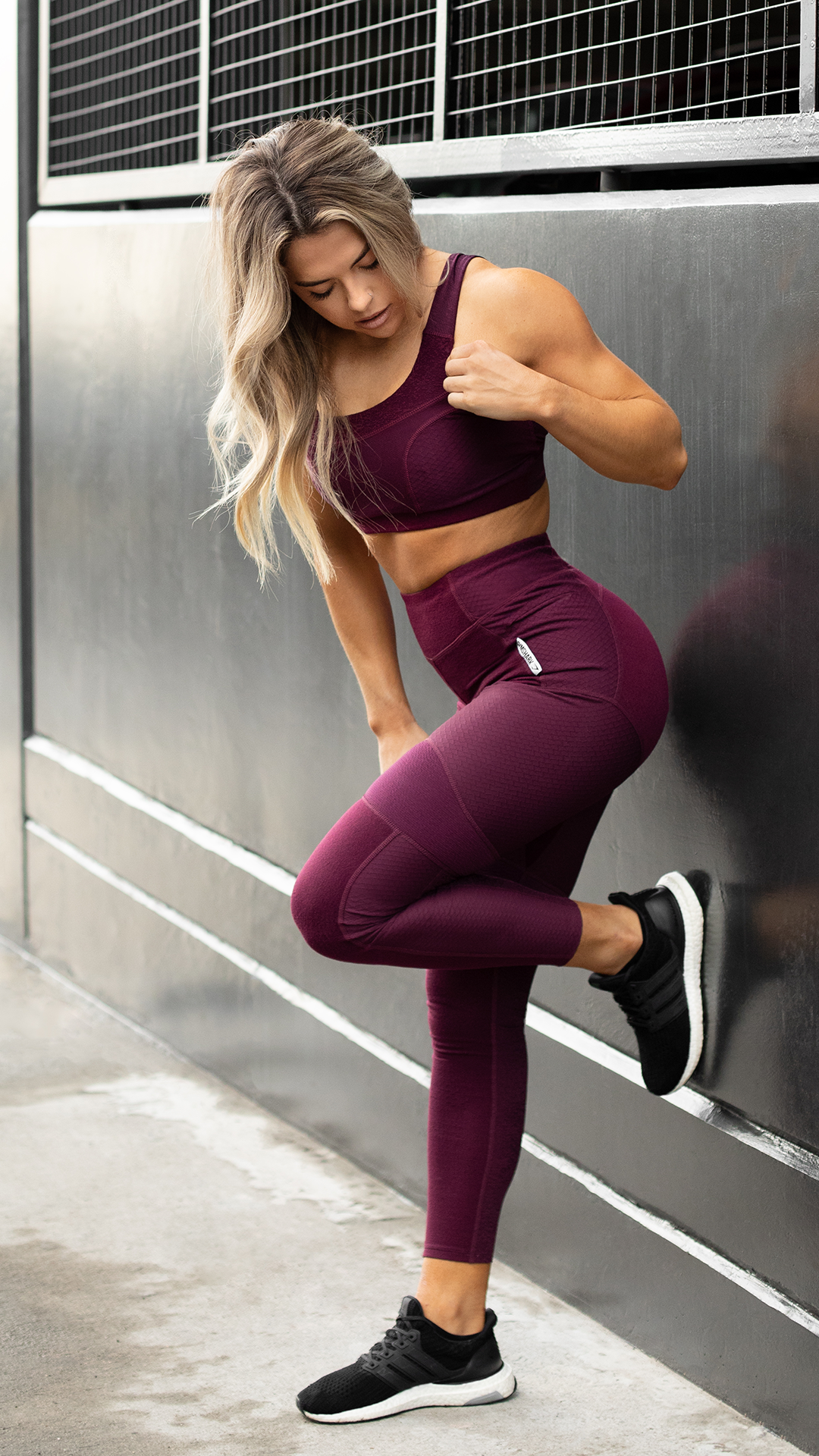 38d84f9703ec8 The True Texture collection, comfort with character. Here we feature the  Dark Ruby colourway. #Gymshark #Gym #Sweat #Train #Perform #Seamless  #Exercise ...