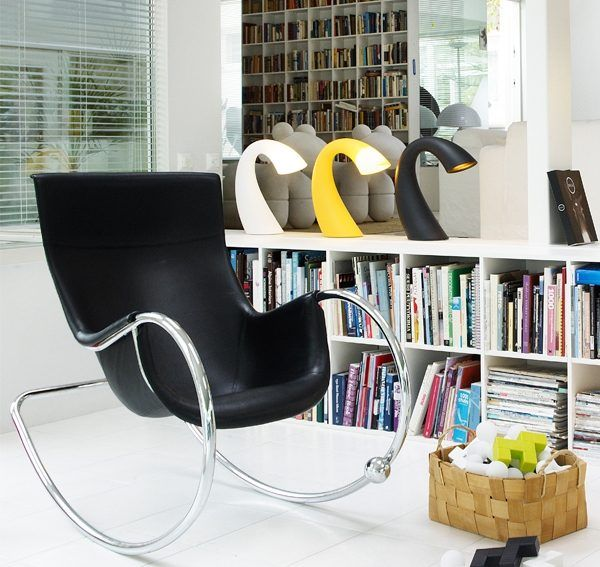 Comfortable rocking chair in the interior | Rocking chairs ...