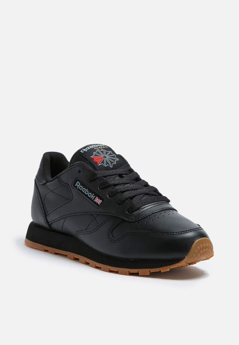 03f6c2acfbd Reebok Classic Leather Foundation - 49804 - Black Gum