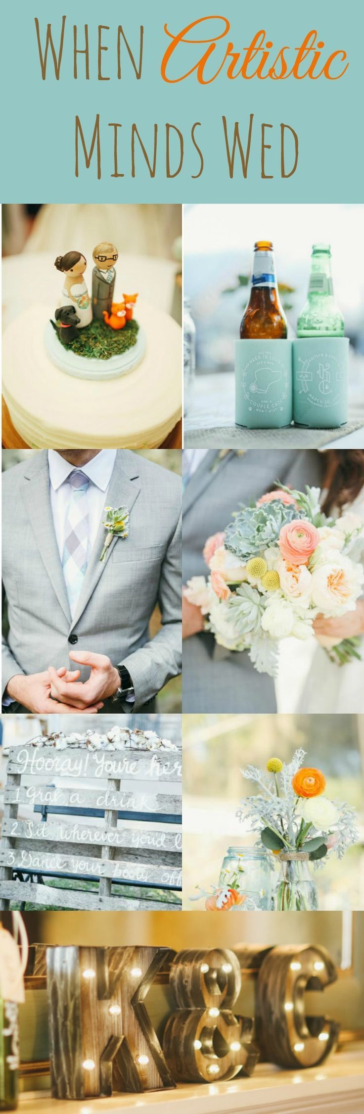 When artistic minds wed rustic outdoor wedding and weddings