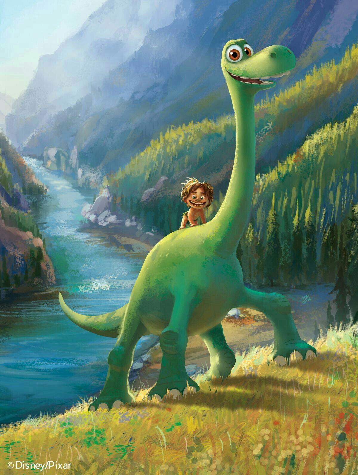 Pin De Afif Em Disney O Bom Dinossauro Wallpapers De Filmes