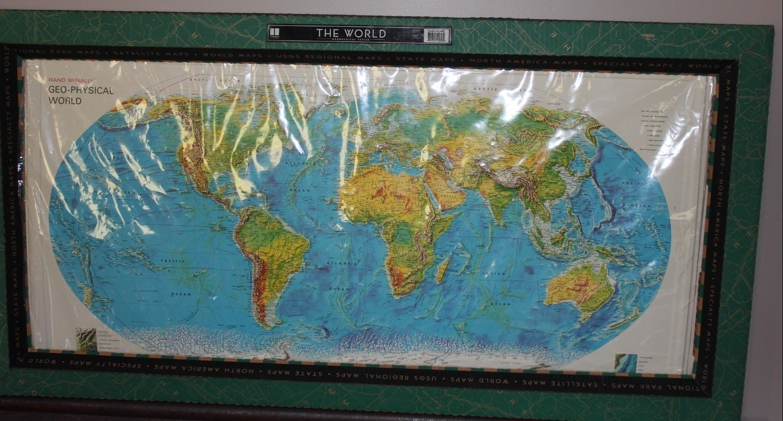 Raised Relief World Map.The World Map Geo Physical Raised Relief Ebay Friends Ebay Etsy