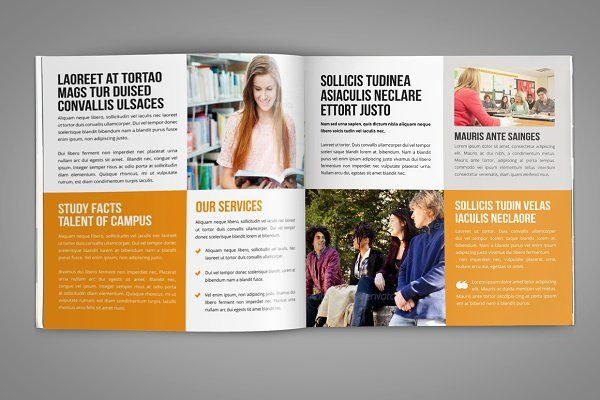 College University Prospectus Bundle By Miyaji On