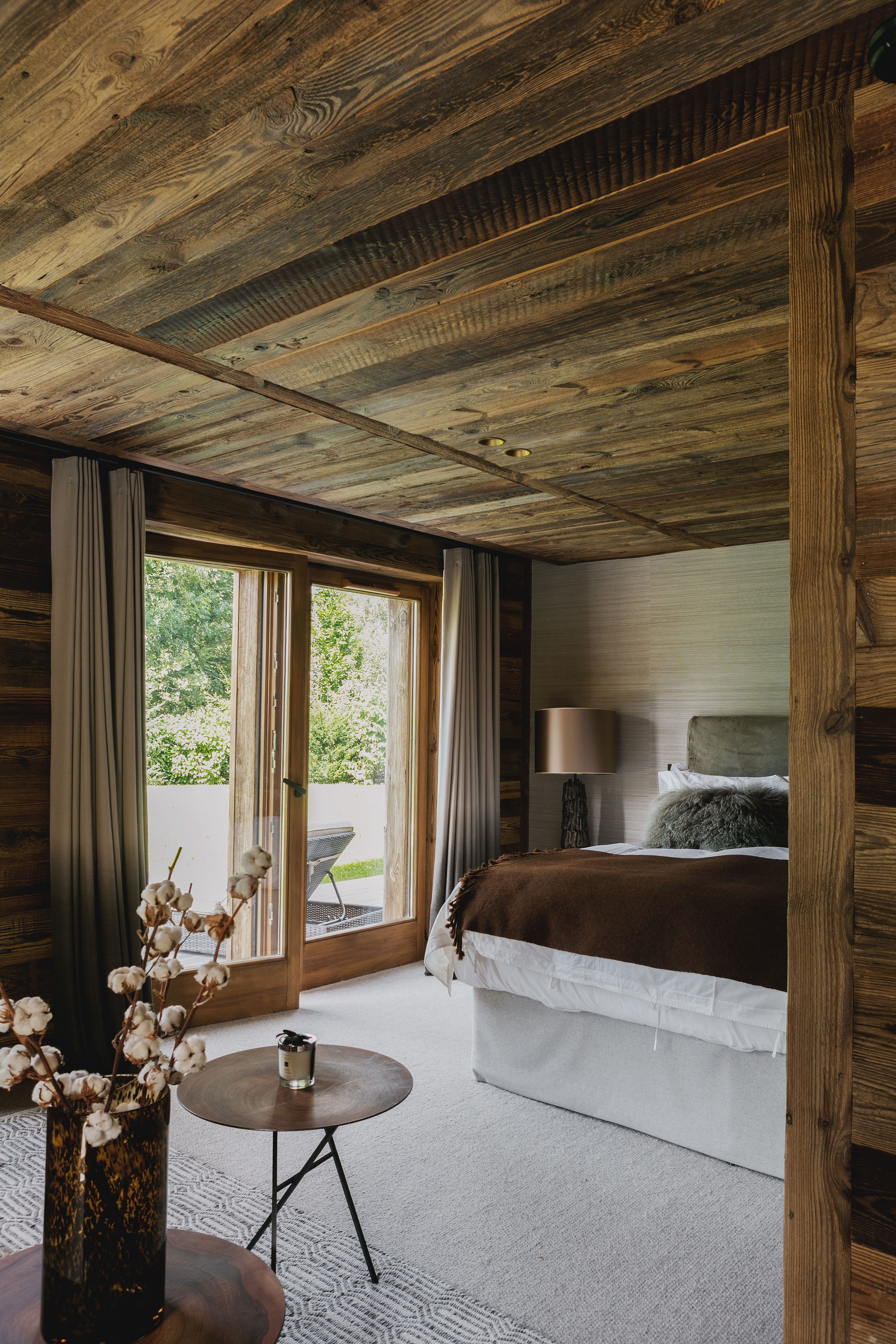 Chalet Nuage Megeve French Alps Bedroomdesign