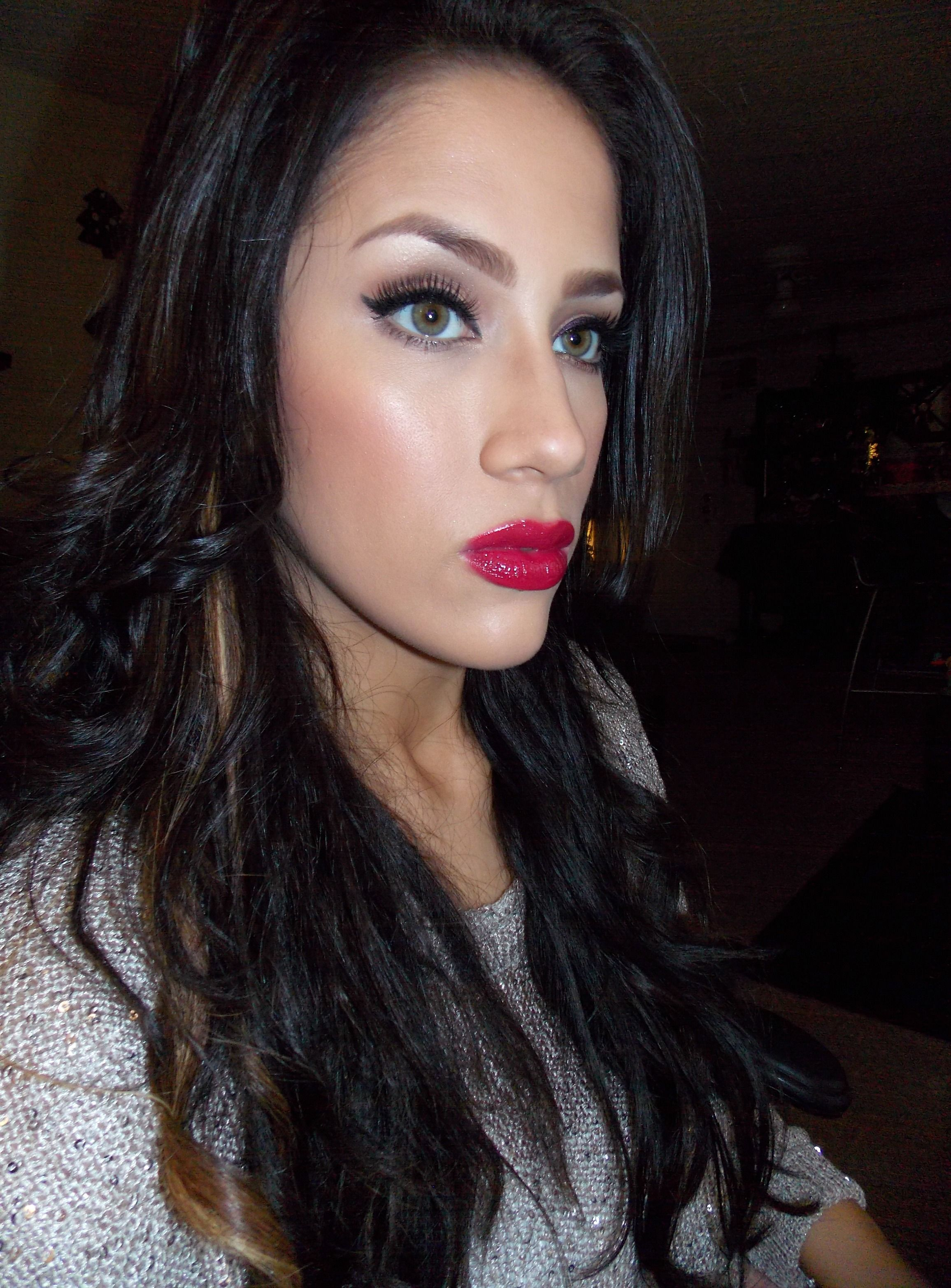 Holiday glam! Smokey eye makeup tutorial, Natural eye
