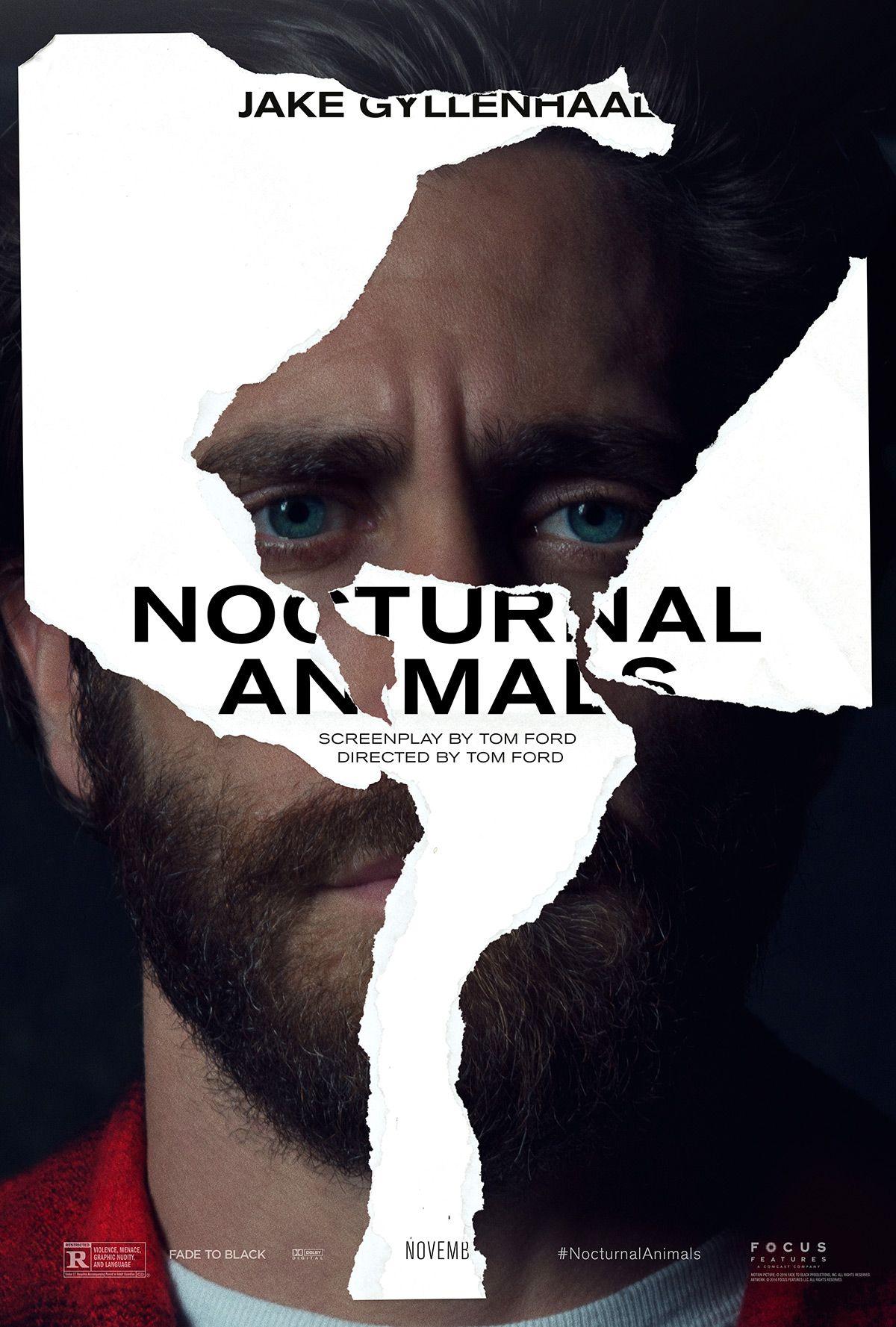 New Nocturnal Animals Posters Jake Gyllenhaal джейк