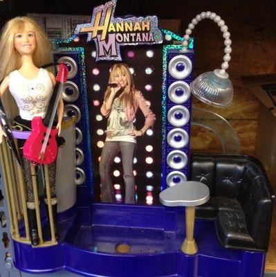Love It Hannah Montana Singing Doll Amp Stage Rare