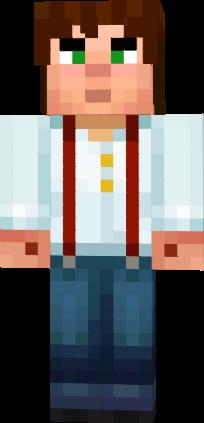 Jesse Minecraft Story Mode Nova Skin Horse Armor Grey Glass Purple Glass