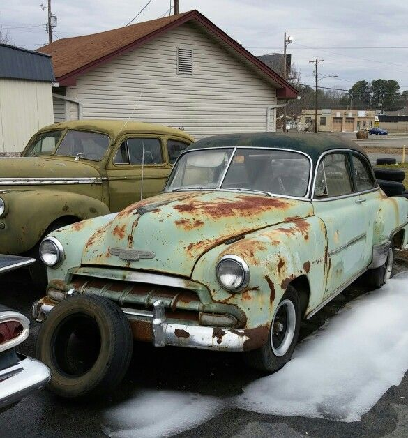 Early 50's Chevy Deluxe. Found in Pine Bluff, Arkansas. Tripper's Travels.
