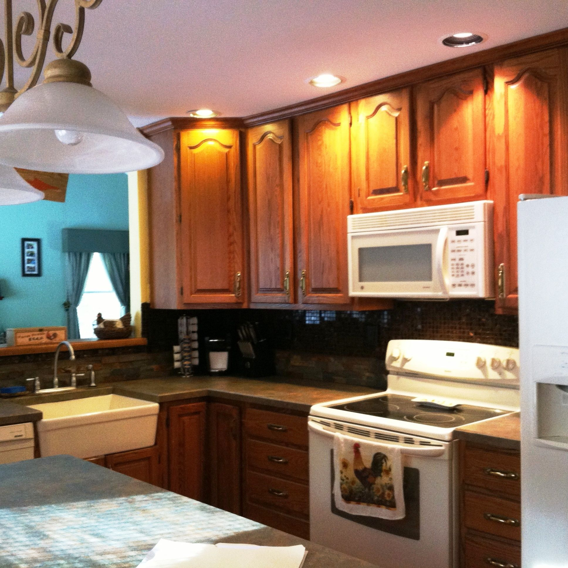 kitchen. updated appliances, plenty of cabinets, movable ...