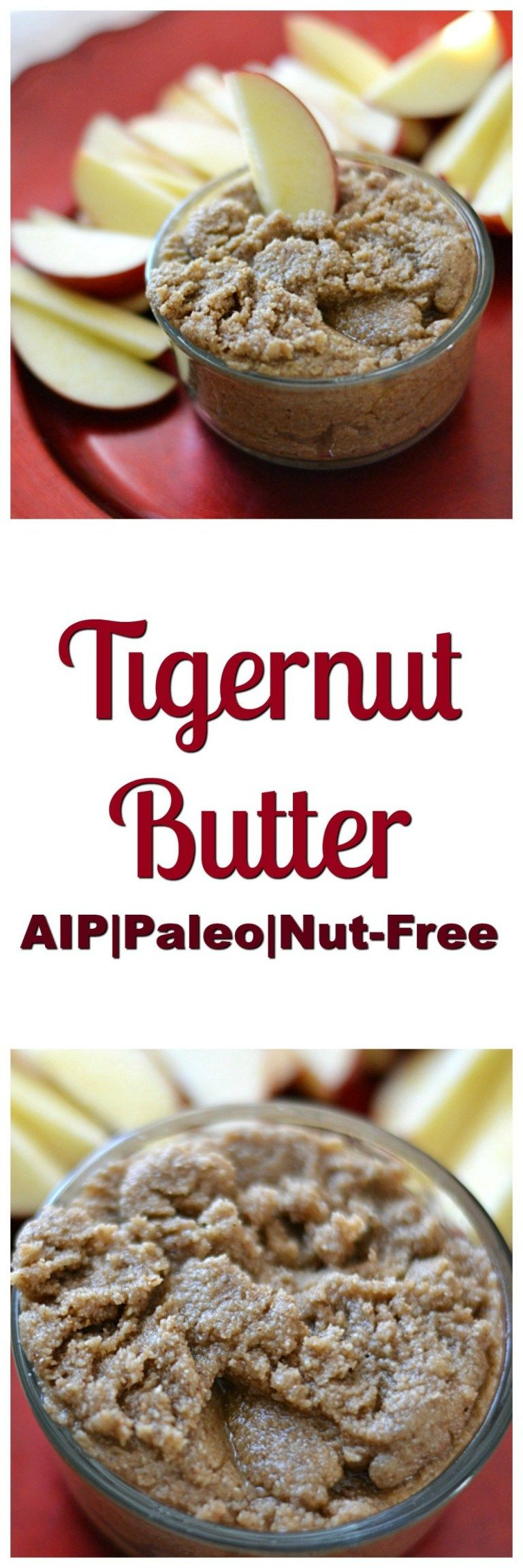 Tigernut Butter 2.0 (AIP/Paleo/Refined Sugar-Free