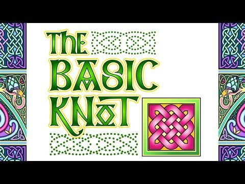 AON - DRAW A BASIC CELTIC KNOT: Learn The Easiest Way to Draw a Celtic Knot