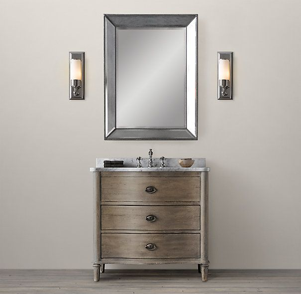 Empire rosette single vanity sink dimensions vanity sink Empire bathrooms