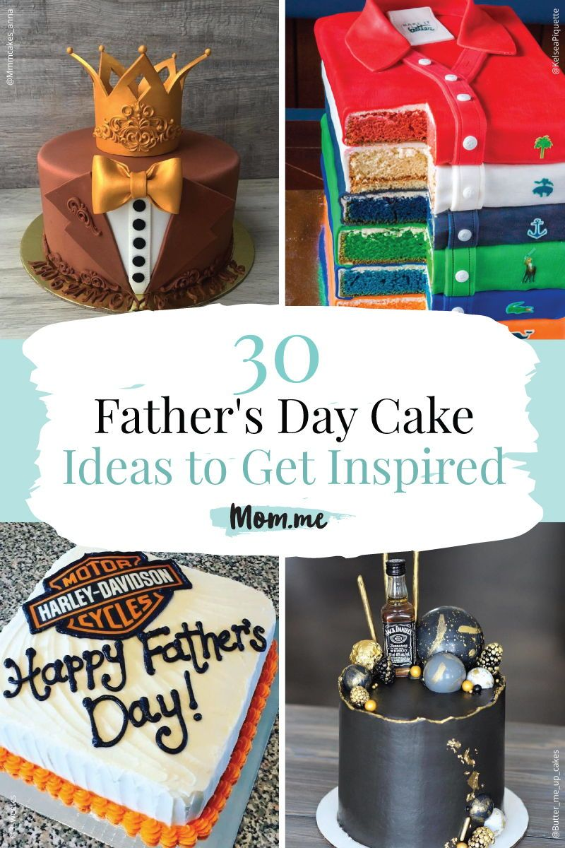 30 Father S Day Cake Ideas To Get Inspired With Images Fathers