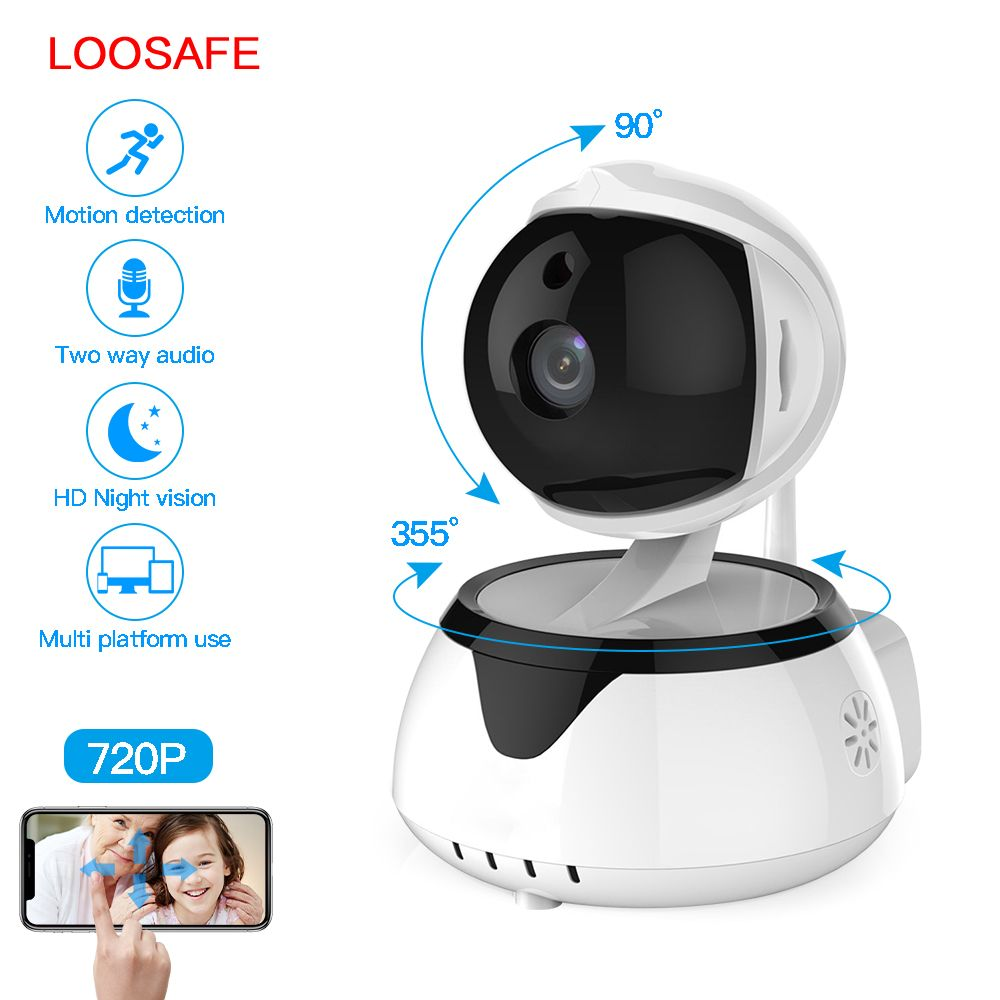 LOOSAFE P IP Camera WIFI Home Security Surveillance System Onvif