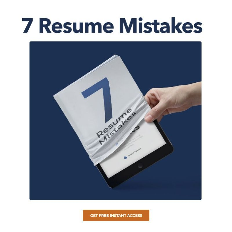 Free Instant Access At Https Www Resumeconcept Com Lp Seven Resume Mistakes Professional Resume Writing Service Resume Writing Services Resume