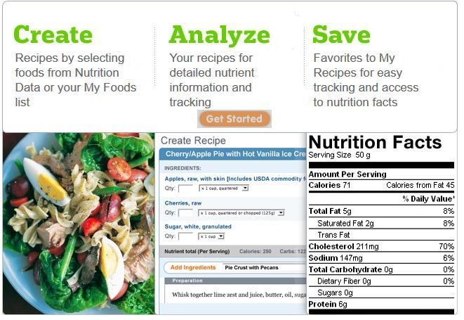 how to view nutrition data on any recipe nutrition data low carb