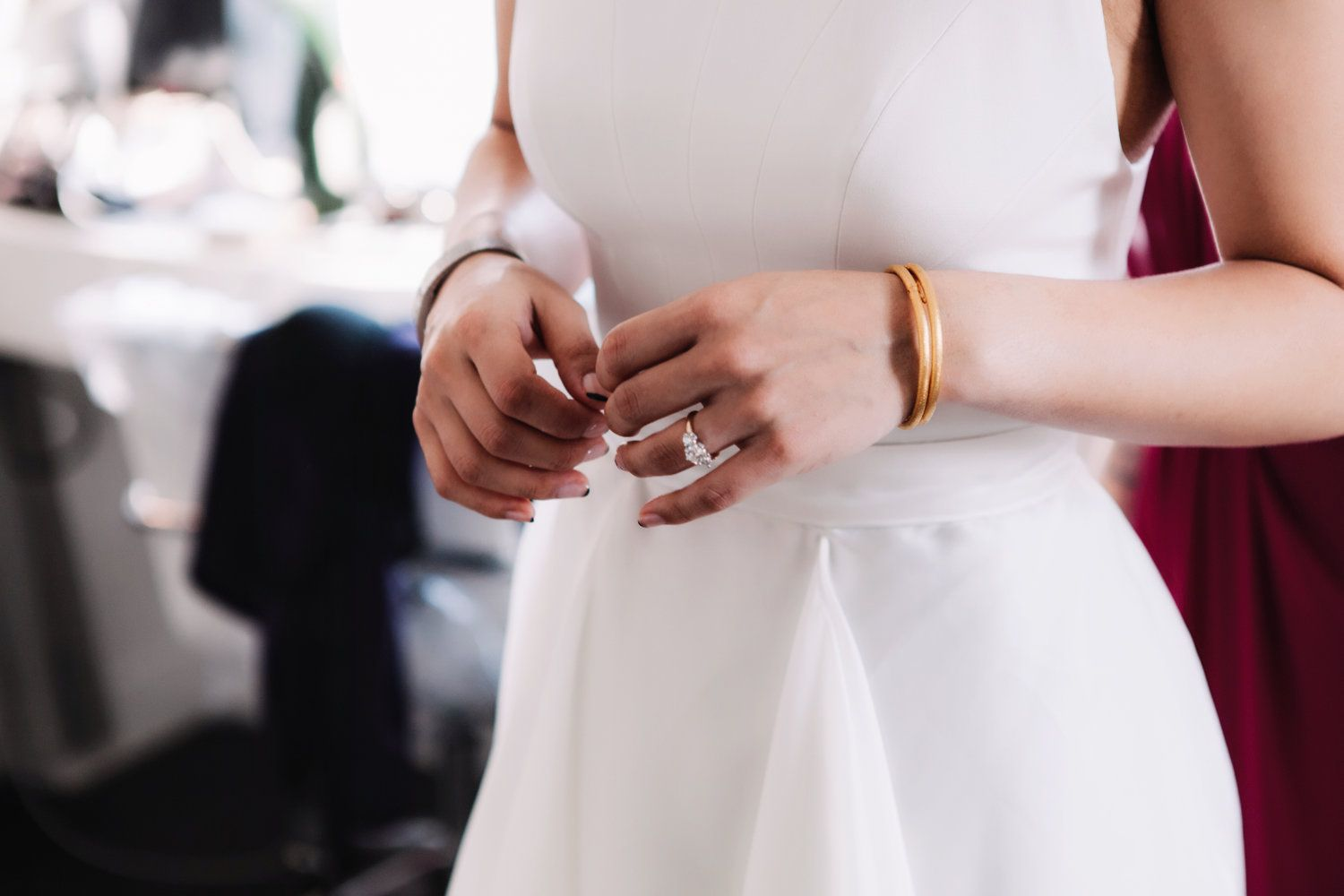 Real Wedding: Meet Becky | Finery: Carol Hannah Aleister Bodice + Mulberry Skirt | Photography: Alex Contell
