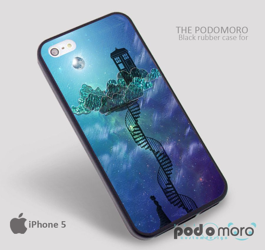 Princess Tardis for iPhone 4/4S, iPhone 5/5S, iPhone 5c, iPhone 6, iPhone 6 Plus, iPod 4, iPod 5, Samsung Galaxy S3, Galaxy S4, Galaxy S5, Galaxy S6, Samsung Galaxy Note 3, Galaxy Note 4, Phone Case