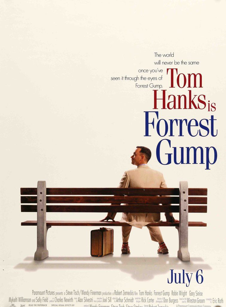 Forrest Gump 1994 Forrest Gump Movie Posters Forrest Gump Forrest Gump Movie