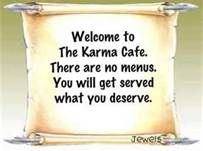 welcome to the karma cafe - Bing Images