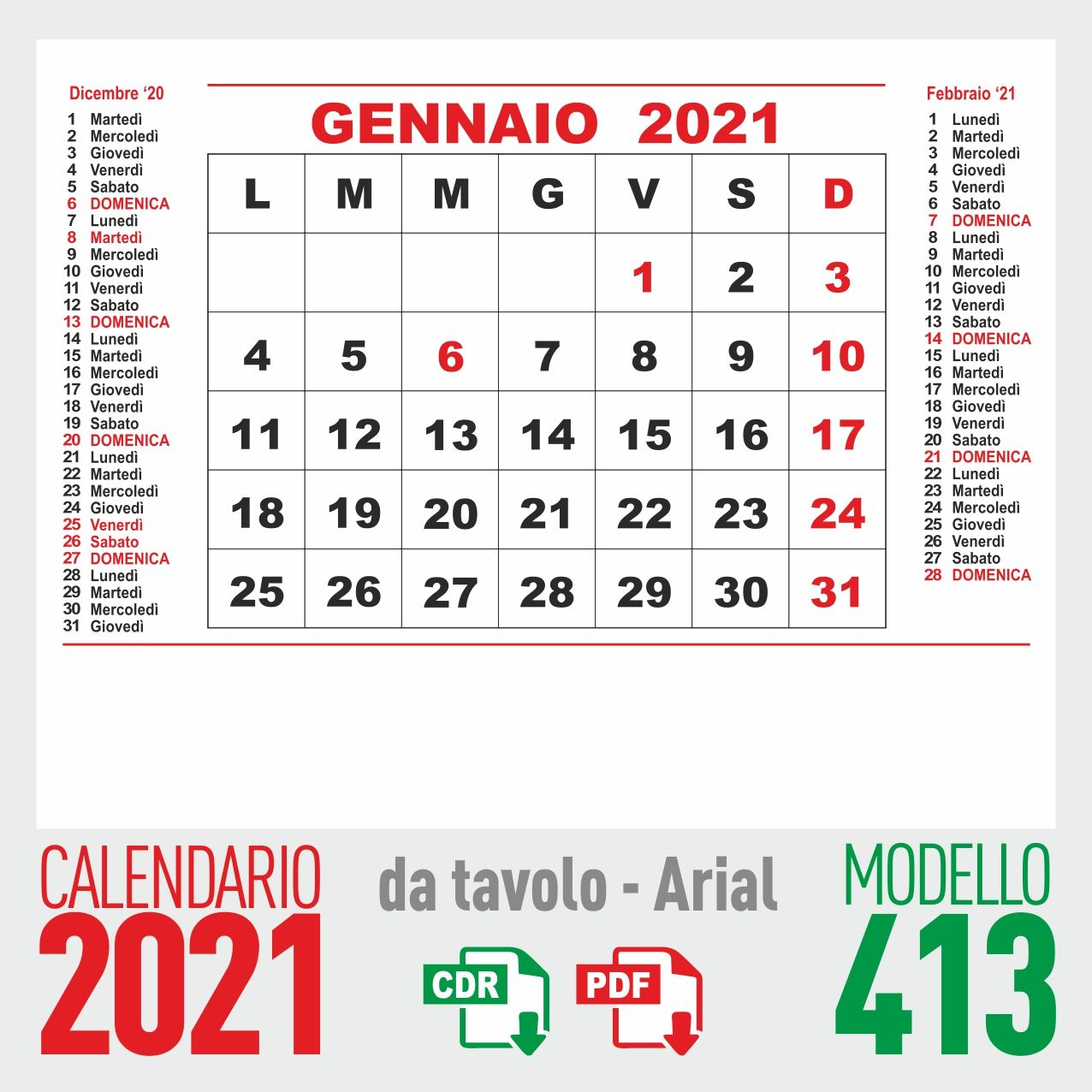 Calendario Da Tavolo Febbraio 2021 Calendario 2021 mensile   Calendario, Mercoledì