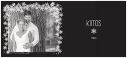 Katso, mitä suunnittelin Vistaprintillä! Valitse http://www.vistaprint.fi/joulukortit.aspx?pfid=243 ja suunnittele itse Vaakasuuntaiset yksiosaiset joulukortit, 95 x 210 mm. Tilaa neliväripainettuja käyntikortteja, banderolleja, joulukortteja, osoitetarroja, paperitarvikkeita...
