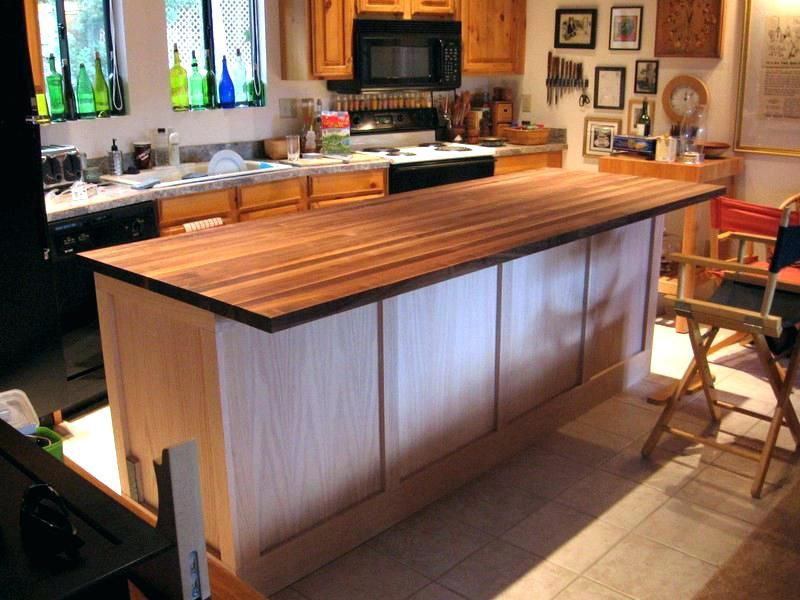 Build A Kitchen Island Using Stock Cabinets Build Your Own Kitchen Island From Stoc Diy Kitchen Island Build Kitchen Island Kitchen Island Using Stock Cabinets
