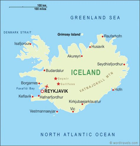 Basic map of iceland google search travel pinterest iceland basic map of iceland google search gumiabroncs Images