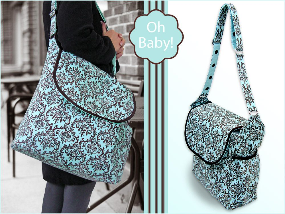 Oh Baby With Fabric Beautiful Diaper Bag Sew4home