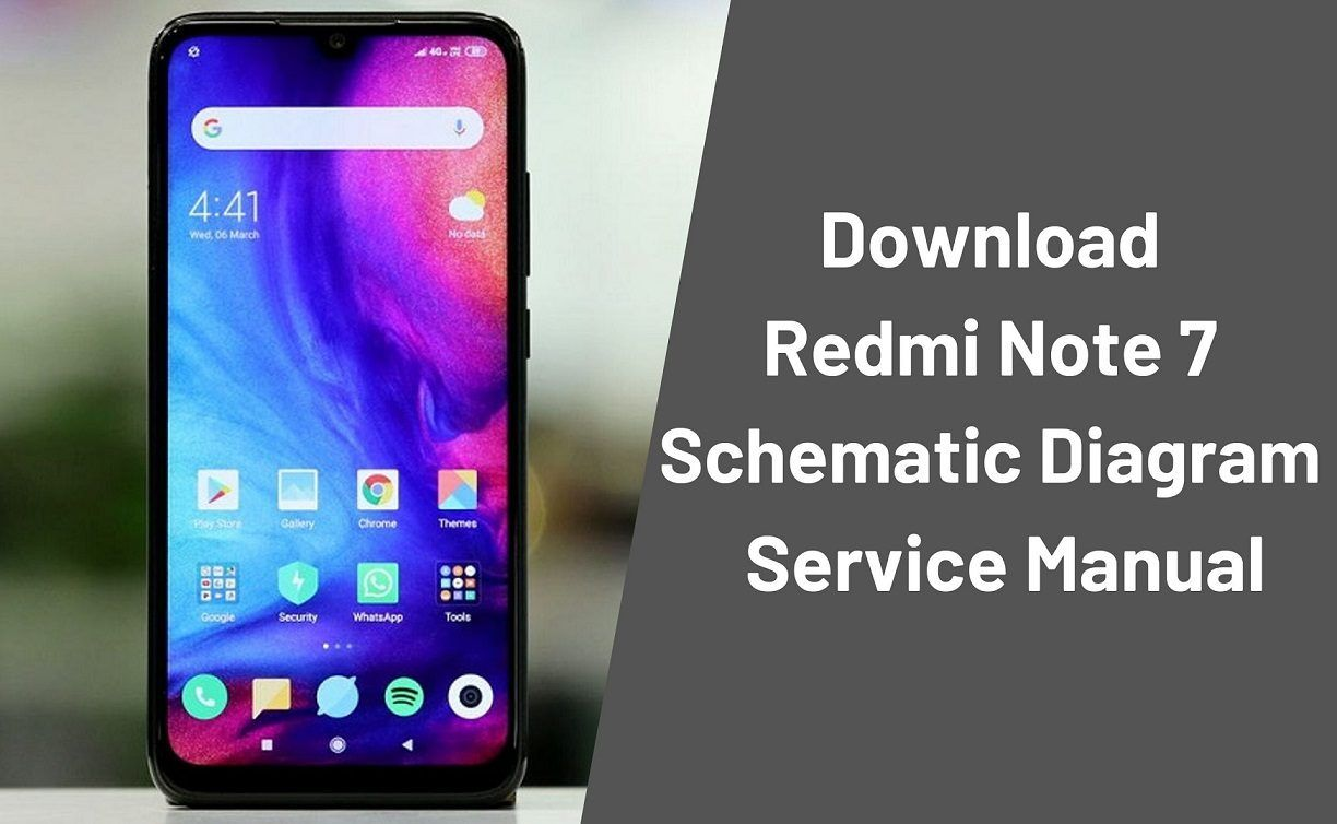 Download Redmi Note 7 Schematic Diagram Service Manual Note 7 Notes Excel Budget Template