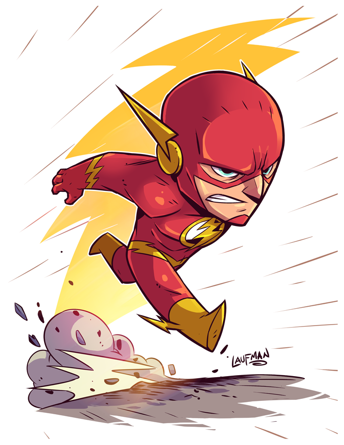 Chibi Flash Prints @dereklaufman.com #chibi #flash