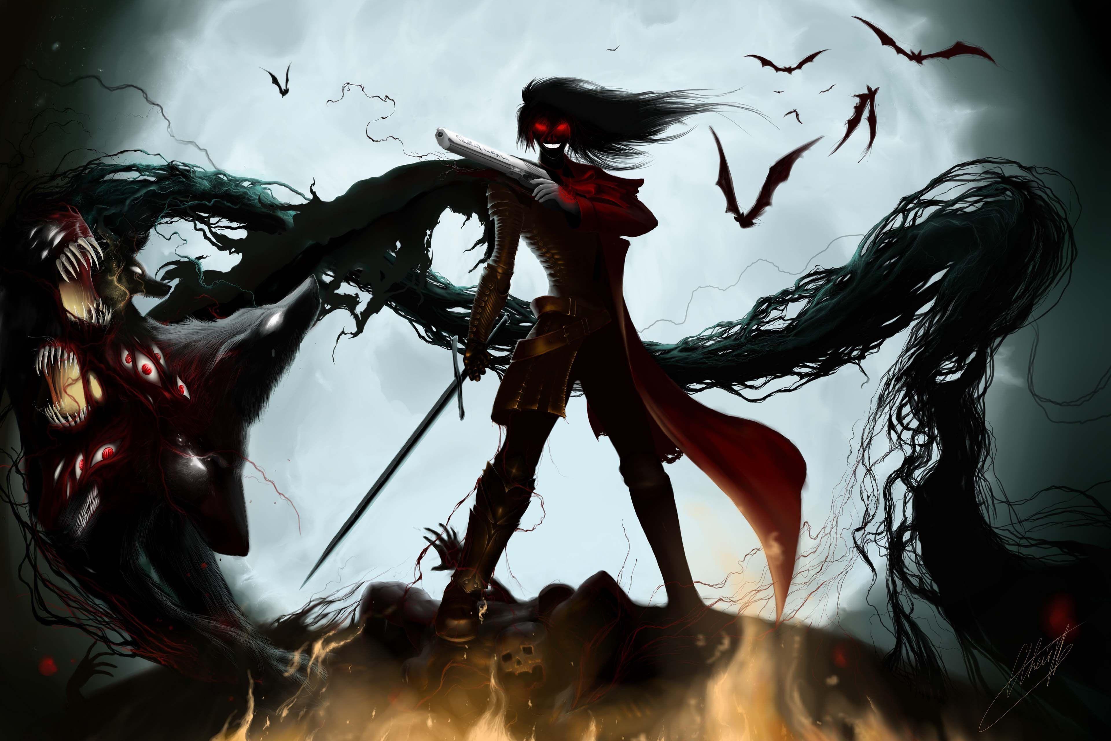 Alucard Hellsing alucard, Anime hd y Anime japones
