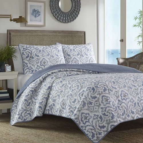 Cape Verde Reversible Quilt Set Quilt Sets Bedding Sets