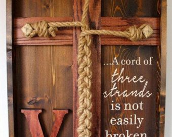 Wedding Cross Unity Braids Cords A Cord Of By BugJunkie