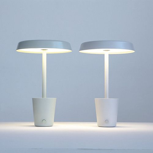 The Cup Lamp / PAUL LOEBACH The Cup Lamp Takes Its Name From The Storage  Cup At Its Base. Including A Dimming Knob And Built In USB Hub, This LED  Lamp ...