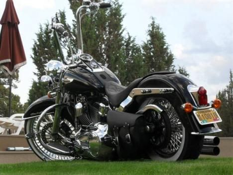 tricked out harley davidson softail deluxe | Softail Deluxe Custom $17,500