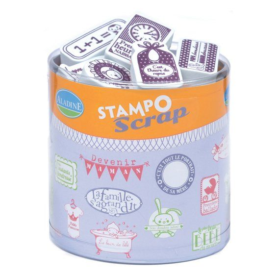 Stampo Scrap Naissance - AladinE