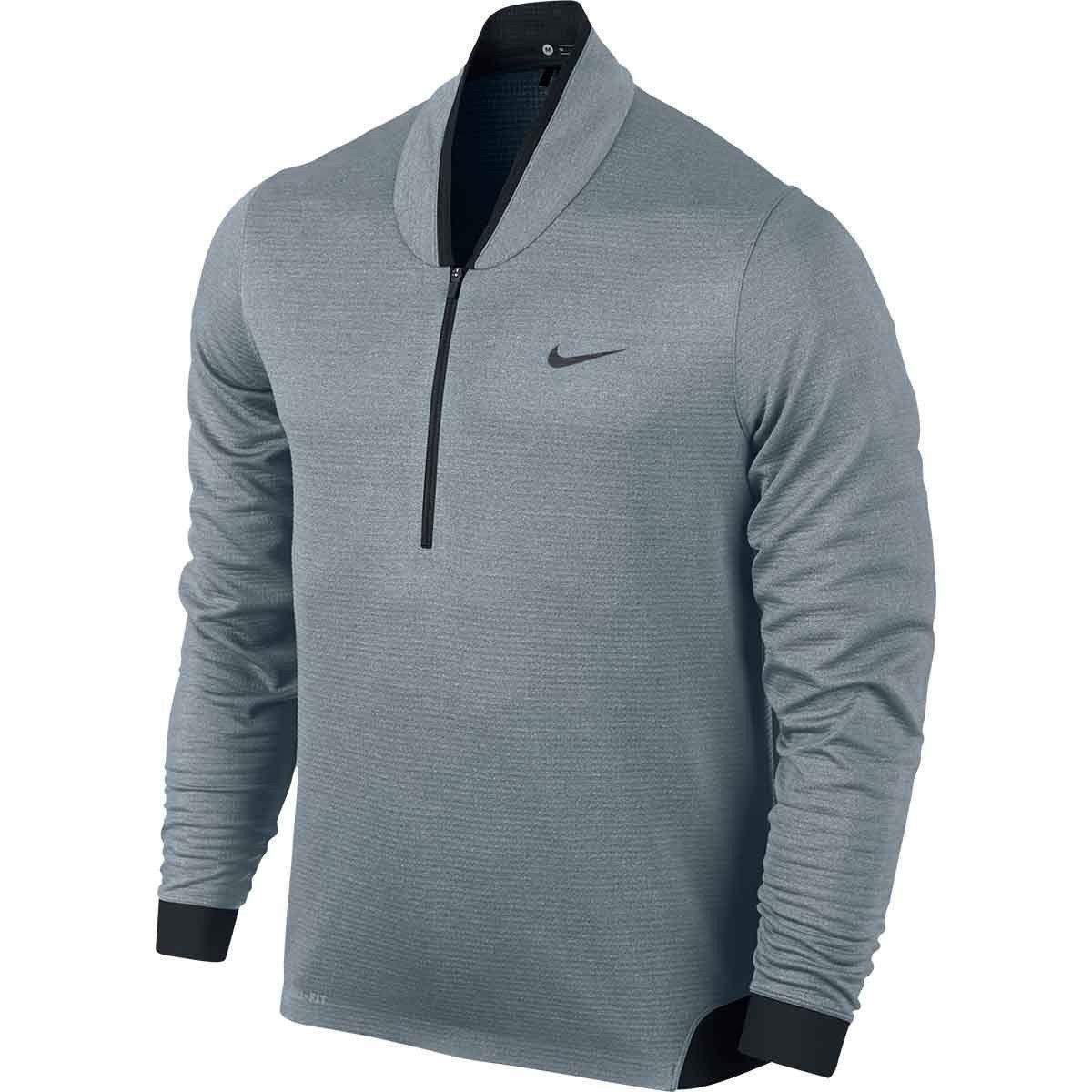 Nike Cotton Air Hybrid Hoody in Dark GreyBlack (Gray) for