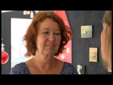 Kunst på Øen - Gitte Helle (del 1) - YouTube