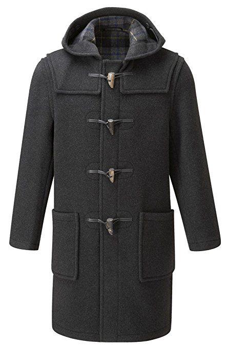 Original Montgomery Mens Duffle Coat Toggle Coat at