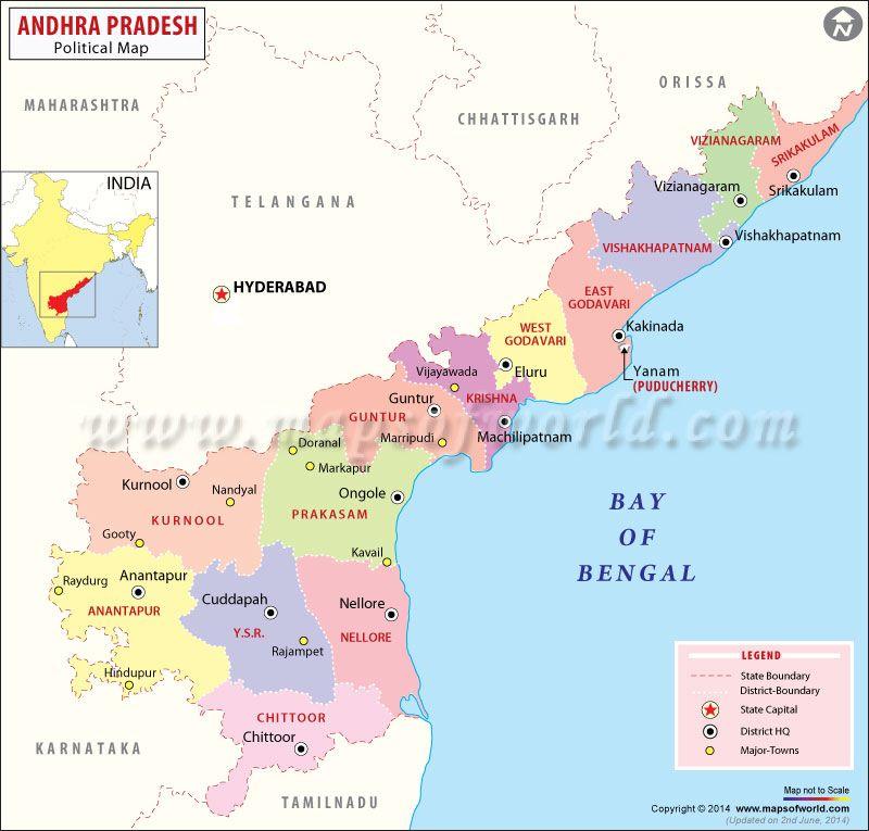 andhra pradesh map telangana Welcome Telangana India S 29th State Andhra Pradesh Map India andhra pradesh map telangana