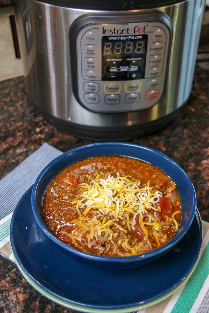 Quick Keto Chili Recipe Made In The Pressure Cooker Recipe Keto Chili Recipe Food Recipes