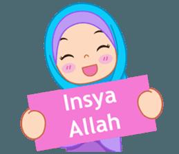 New Funny Emoji  Fatima : Diary of Hijabers – LINE stickers | LINE STORE 11