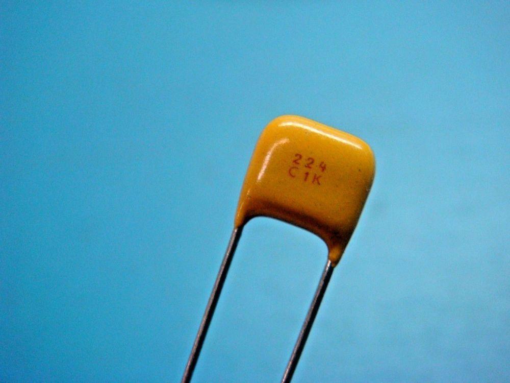 25 Avx Sr301c224kaa 22uf 220000pf 100v 10 Xr7 Radial Ceramic Capacitor Diy Tech Capacitors 10 Things