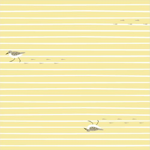 Sandpiper from Old Favorites by Michelle Engel Bencsko for Cloud9 Fabrics